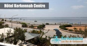 Vue sur la plage Hôtel Kerkennah Centre Tunisie