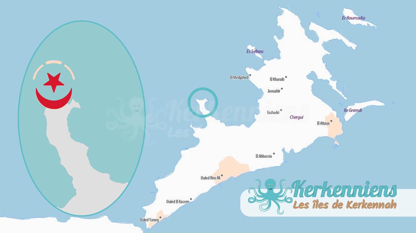 zone touristique Sidi Founkhall Gouvernorat de Sfax Tunisie